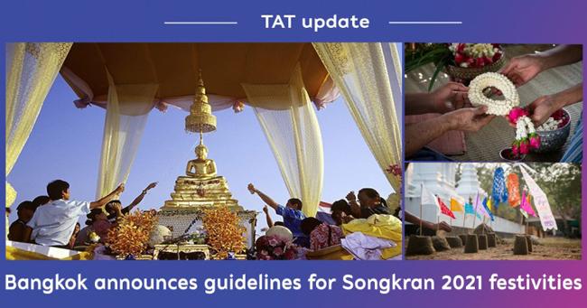 Thailand : Bangkok announces guidelines for Songkran 2021 festivities