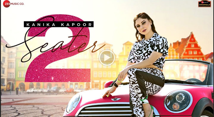 Zee Music : Kanika Kapoor releases a new song titled '2 Seater Car' – See video