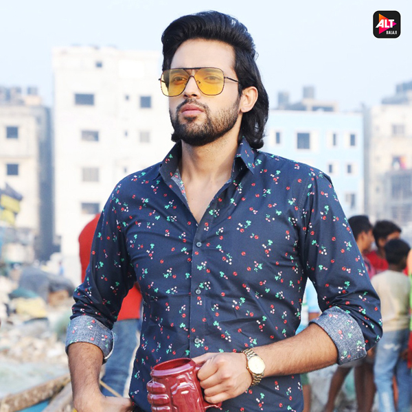 What kept Parth Samthaan up till 4 am? of ALTBalaji's action-drama Mai Hero Boll Raha Hu
