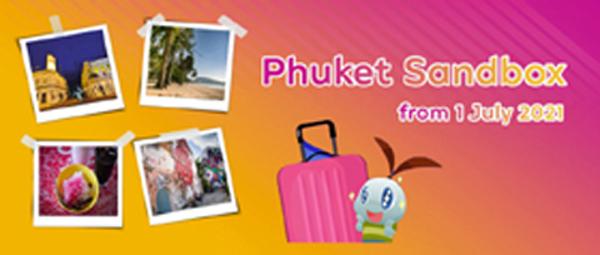 Thailand : Initial Information – Phuket Sandbox international travellers