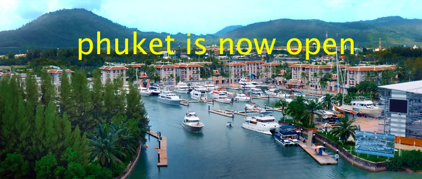"""Thailand : TAT launches """"Phuket is now open"""" marketing campaign – 1 July, 2021"""