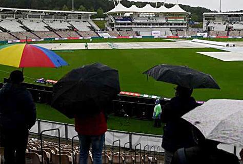 IND vs NZ DAY-4 : बारिश के कारण नहीं हो सका का खेल