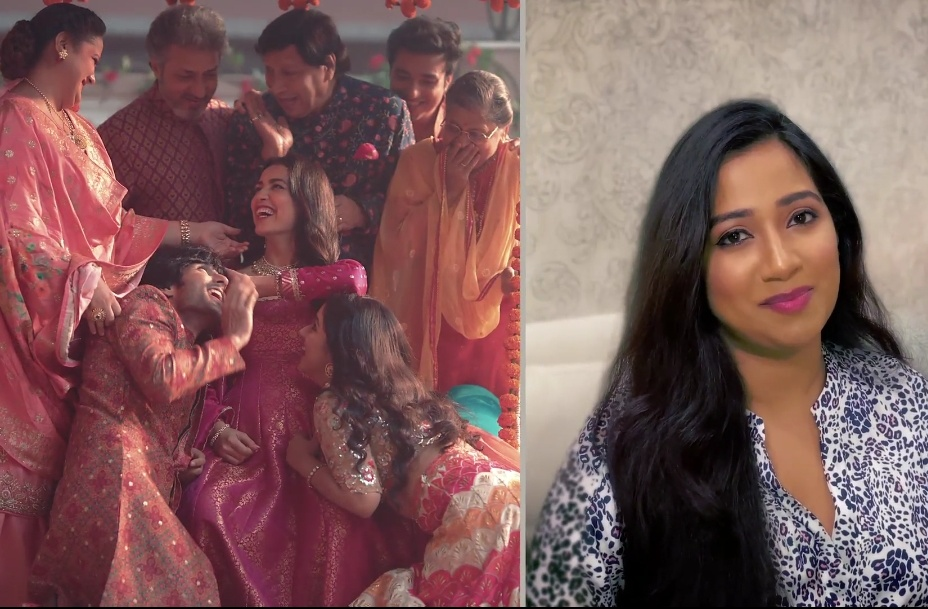 Versatile Singer Shreya Ghoshal makes an appearance on TV for the first time after the break, in a new musical promo composed for Star Plus's upcoming show Zindagi Mere Ghar Aana!