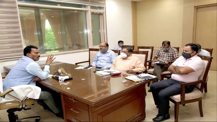 जल संसाधन मंत्री श्री सिलावट ने प्रदेश के बांधो में जल-भराव की स्थिति की समीक्षा की