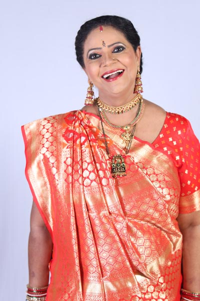 Versatile Actress Rupal Patel styles and designs her look for her On-screen Avatar in 'Tera Mera Saath Rahe'
