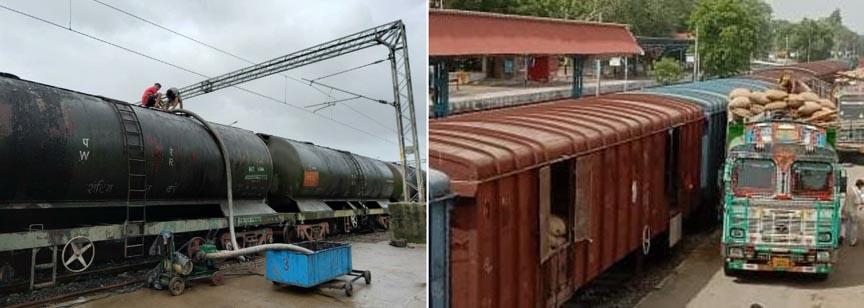 पश्चिम रेलवे के मुंबई मंडल द्वारा चीनी और गुड़ के नये उत्पादों का परिवहन