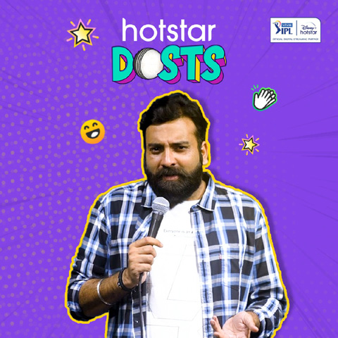 Bollywood actor Varun Sharma and other popular entertainers delivers a funcricketainmentexperience on Disney+ Hotstar as they turn cricket commentators with Hotstars Dosts for VIVO IPL 2021