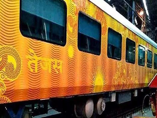 आईआरसीटीसी अहमदाबाद मुंबई तेजस एक्सप्रेस यात्रियों के बीच पसंदीदा ट्रेन बनकर उभरी